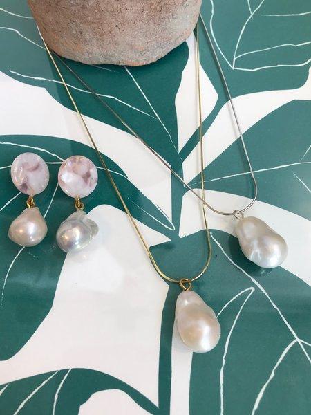 Machete Baroque Pearl Drops - Lavender