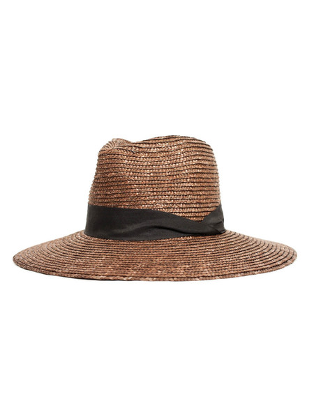 Brixton Willow Hat Brown Black