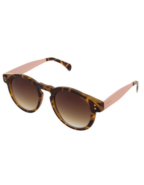 Komono Clement Sunglasses Metal Tortoise Rose Gold