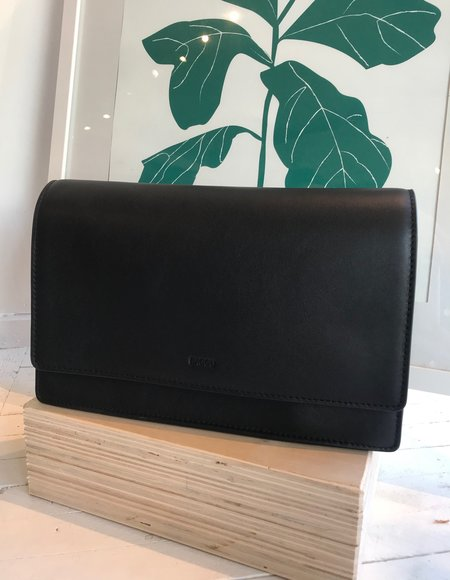 BAGGU Large Structured Crossbody - Black