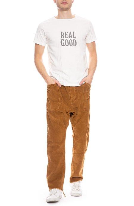 DR COLLECTORS Drop Crotch Corduroy Pants - Burnt Orange