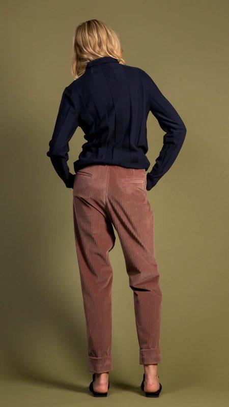 Peserico Soft Corduroy Pants - Dusty Tan