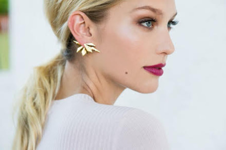 Anita K. Roots + Wing Front Back Single Earring
