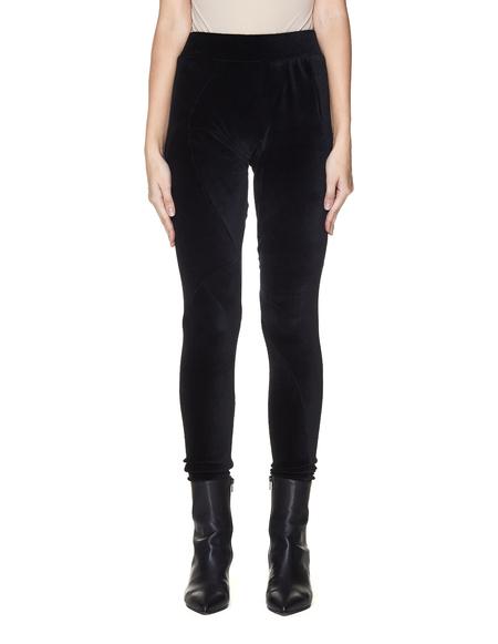 Leon Emanuel Blanck Velvet Deconstructed Leggings - Black