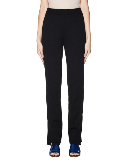Undercover Knitted Front Trousers - Black