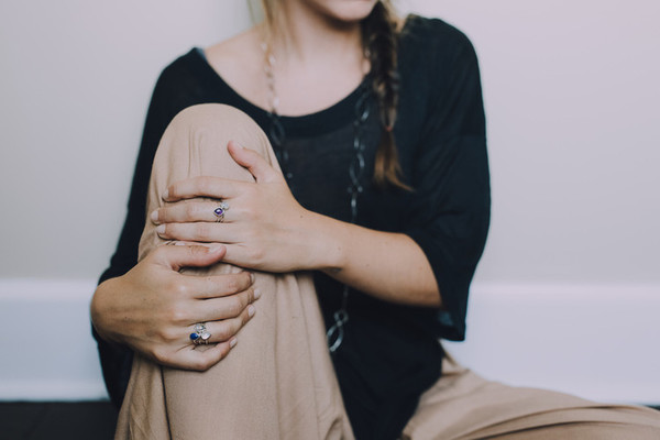 Sarah A. Sears Teardrop Ring