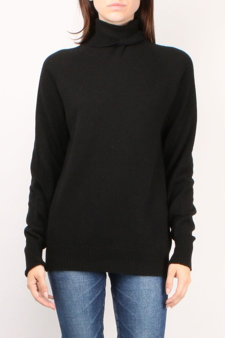 Ma'ry'ya Turtle Neck Sweater - Black