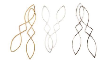 Sarah A. Sears Large Piya Earrings