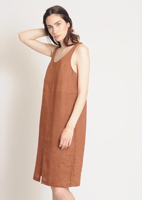 Are Studio Brick Linen Dip Dress