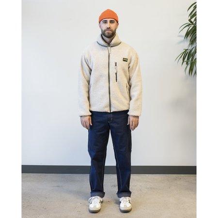 Stan Ray High Pile Fleece Jacket - Natural