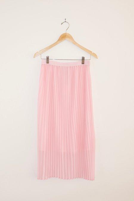 Just Female Moe Pleated Skirt - Pink