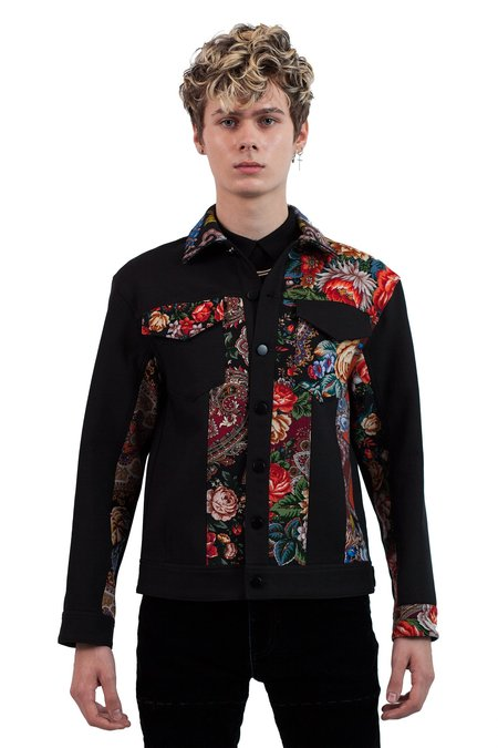 Occhii Patchwork Jacket