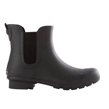 roma Chelsea Rain Boot - Matte Black