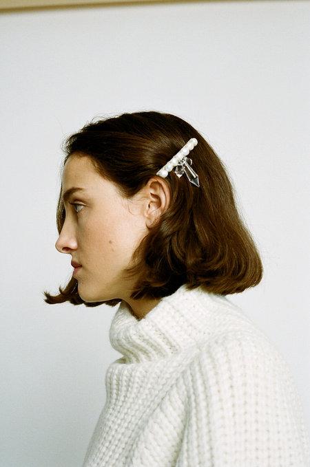 WALD Josephine Baker Hairclip - Pearl