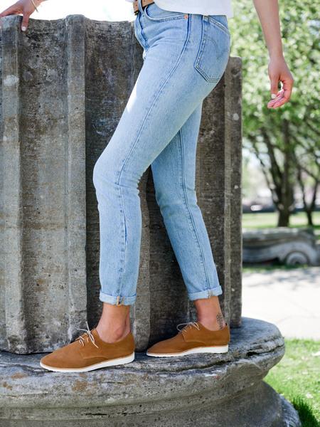 Nisolo Sedona Lightweight Derby shoes - Tan
