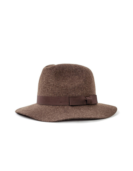 Brixton Indiana Fedora Heather Brown