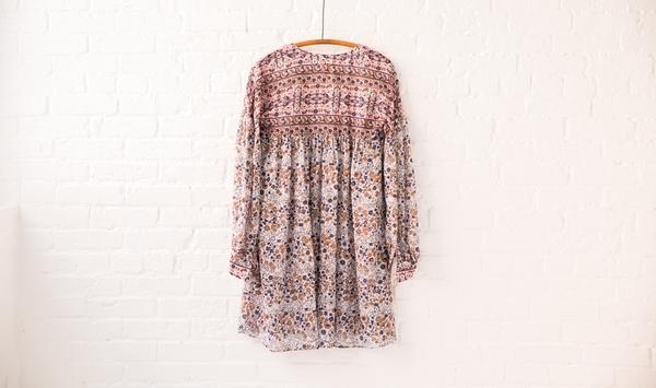 see by chloe peasant dress
