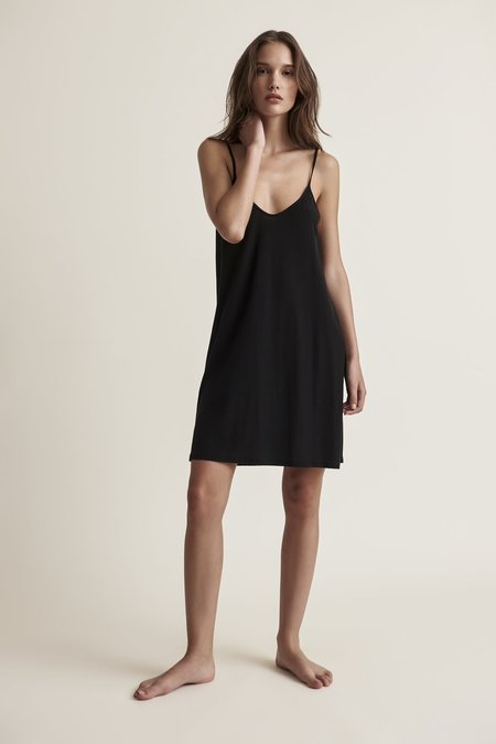 Skin Sexy Pima Cotton Slip - Black