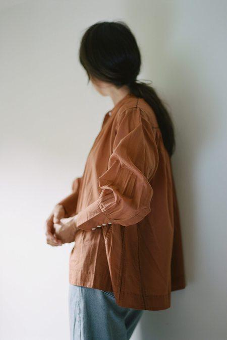 Karu Potter's Blouse - Terracotta