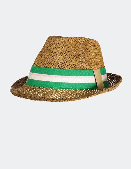 kids Blune Brigitte Hat - Green Apple