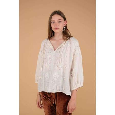 Louise Misha Ljubiaka Blouse - cream