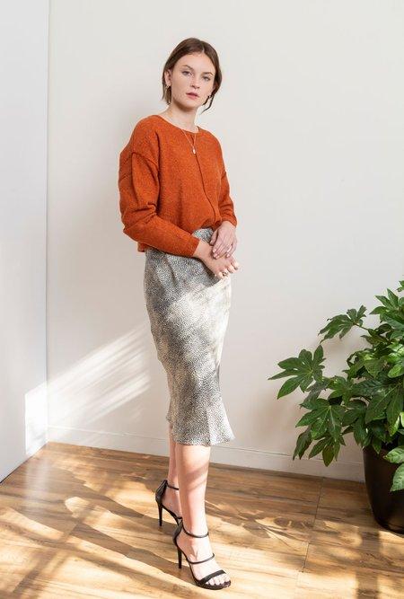 Azalea Cleo Midi Skirt - LEOPARD