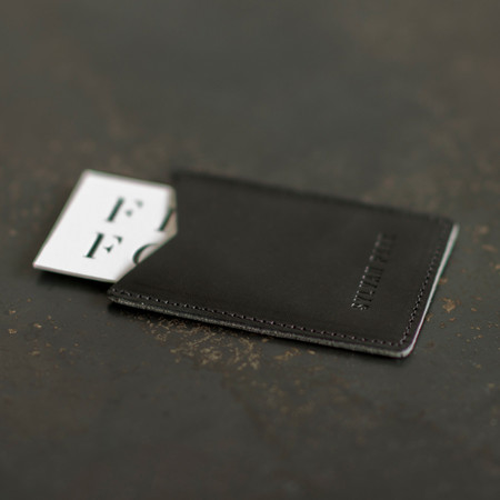 Unisex Sylvan Park Card Case - Black