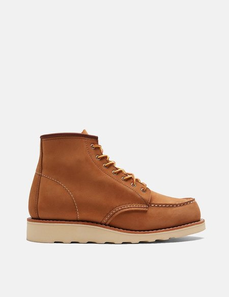 """Red Wing Shoes Heritage 6"""" Moc Toe Boots - Khaki Honey Chinook"""