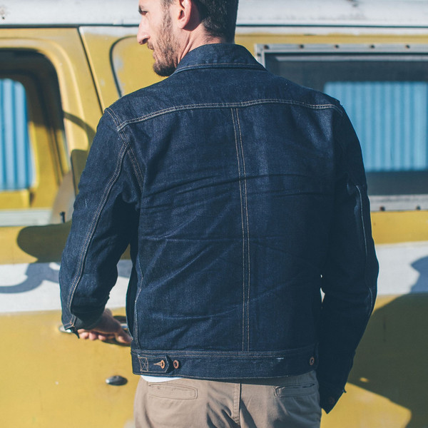 Taylor Stitch Long Haul Jacket in Cone Mills '68 Selvage