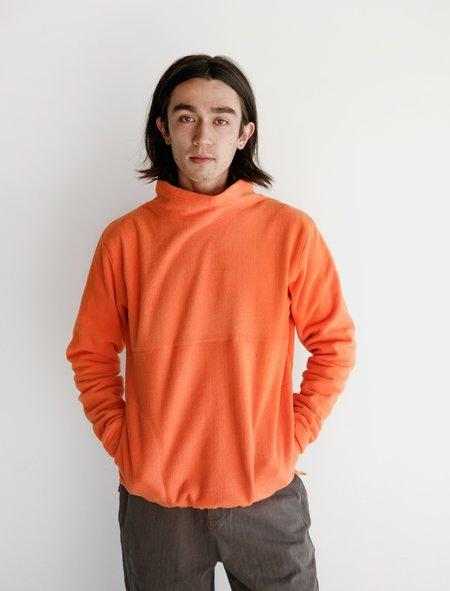 Adsum Fleece Knit Pullover - Orangina