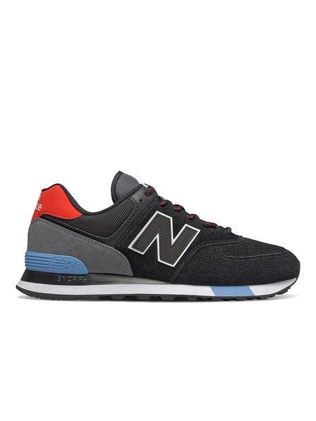 New Balance ML574JHO - Black/Velocity Red