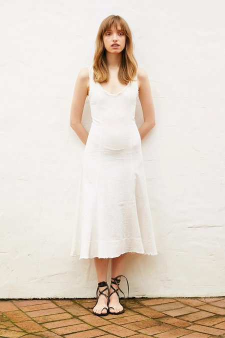 BEFORE MARCH Romy dress - Ivory