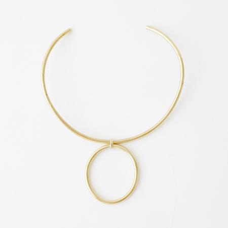 Crescioni Inyo Necklace - Brass
