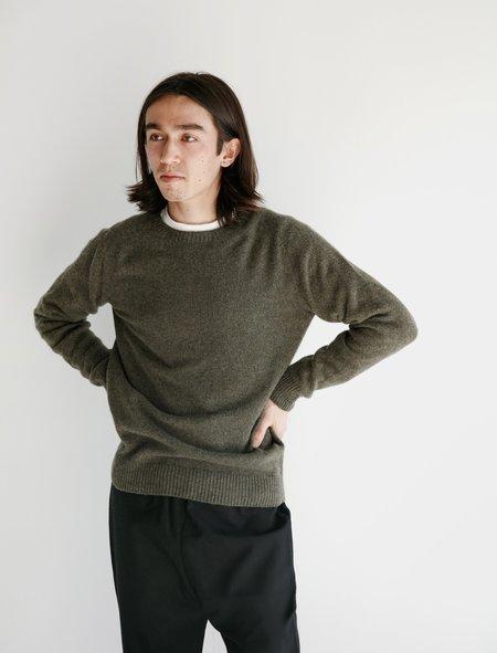 Neighbour Merino Cashmere Sweater - Moss