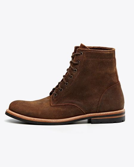 Nisolo Andres All Weather Boot - Waxed Brown