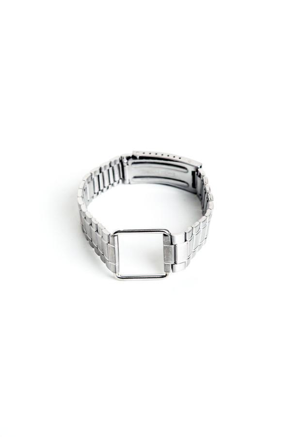 ina.seifart Silver Steel Uhrenarmband Bracelet