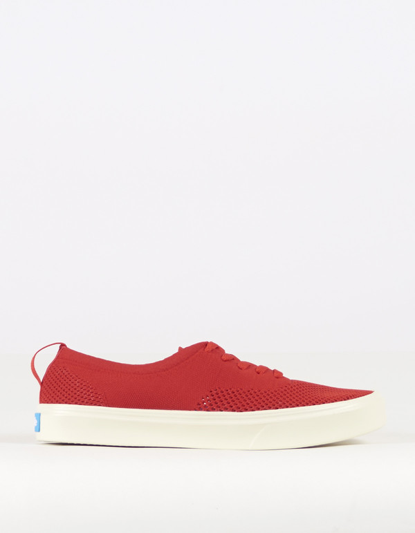 People Men's Footwear Stanley Knit Supreme Red Picket White