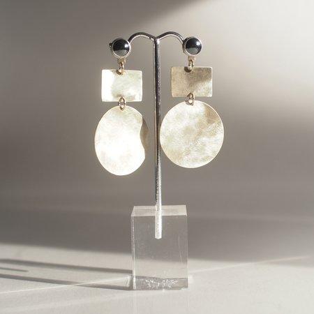 Kari Phillips Jewelry Hematite Earrings