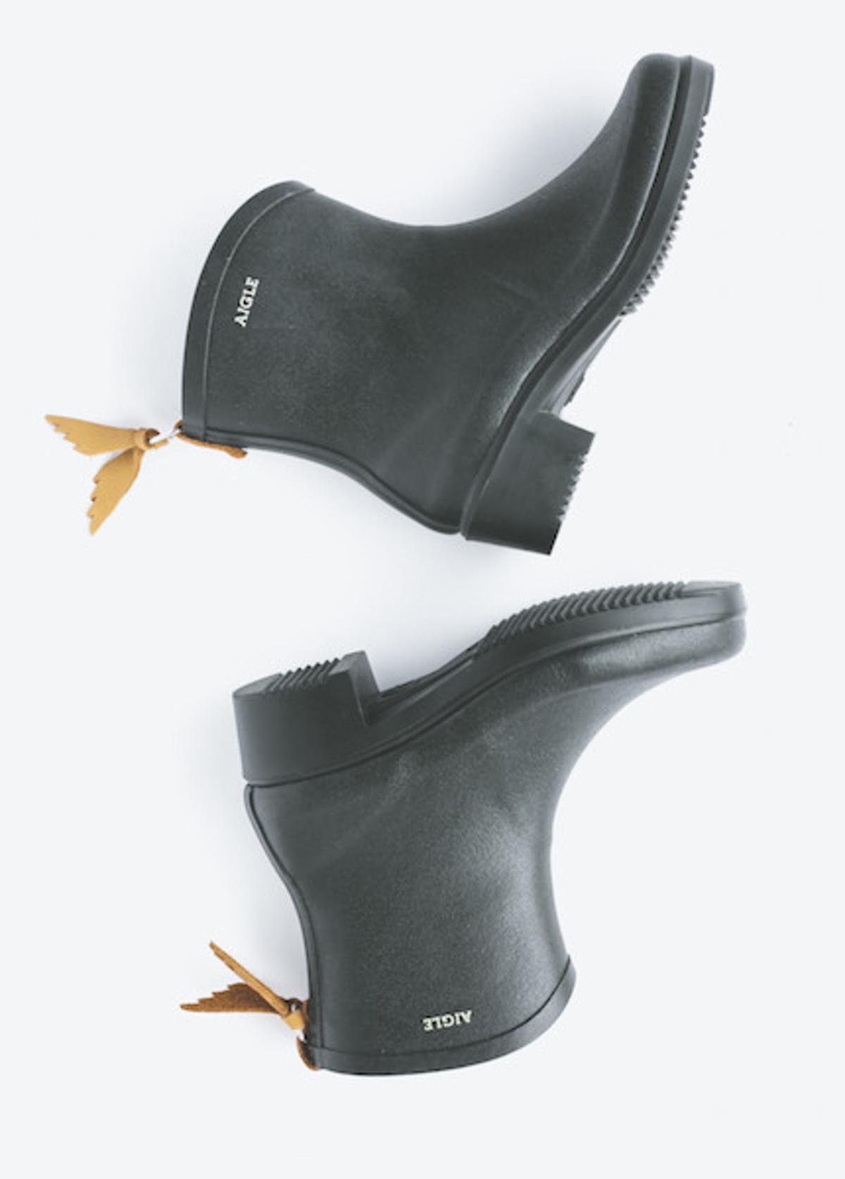 aigle - miss juliette bottillon in noir | garmentory