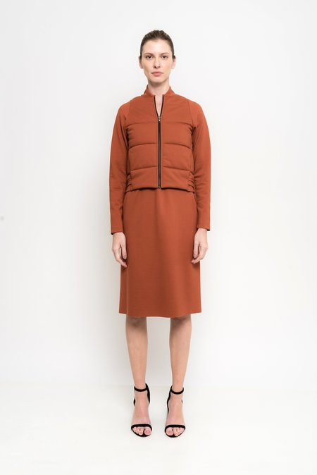 Uma Raquel Davidowicz Dallas Bamboo And Nylon Quilted Jacket