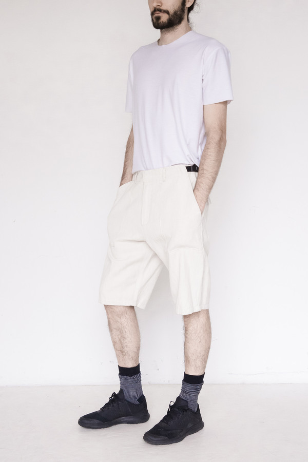Assembly New York Cotton Short - Natural
