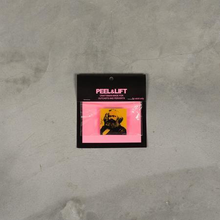 PEEL & LIFT Marx Badge - Yellow