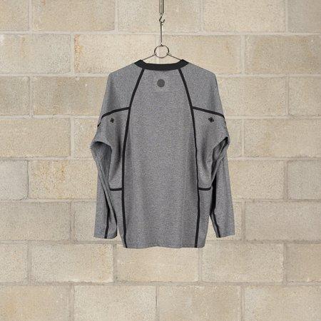 Alk Phenix Orbit Long Sleeve Technista T-Shirt - Heather Grey