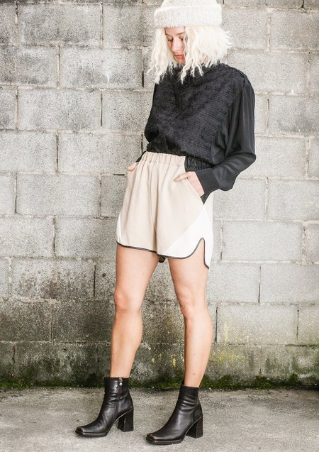 Berenik Patchwork Shorts