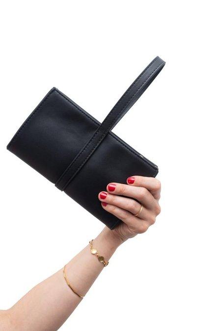Hozen Wristlet Clutch - Black