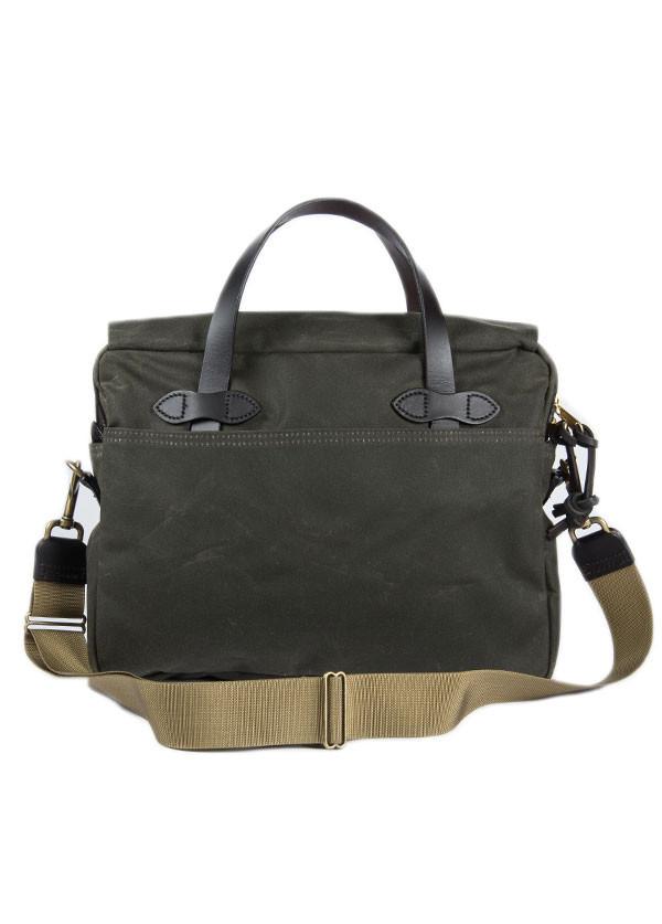Filson - Tin Cloth Original Briefcase in Otter Green