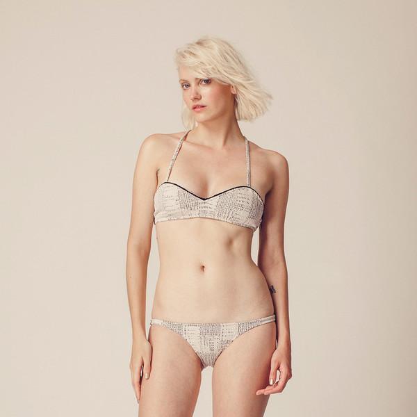 Made By Dawn Seashell Bikini Top