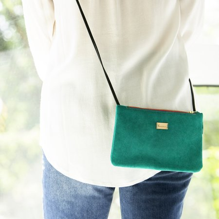 Gonthier Atelier Suede Shoulder Bag