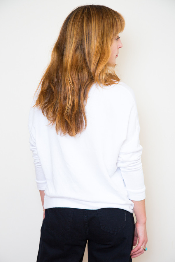 stateside white sweatshirt