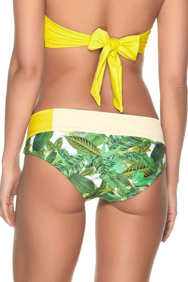 Estivo Bikini Bottom in Jungle Greens